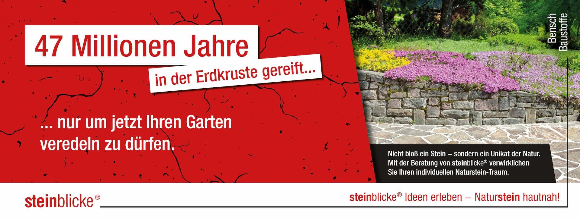 Natursteine für Ihren Garten